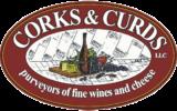 CORKS & CURDS Logo